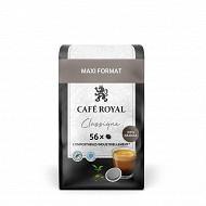 Café royal dosettes souples classique x56 389g