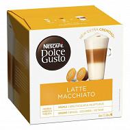 Nescafé Dolce Gusto Café Latte macchiato, capsule café - x16 dosettes