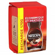 Nescafé Séléction Café soluble corsé et intense éco pack - 170g