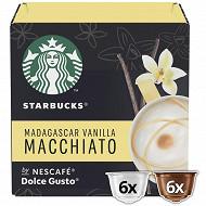 Starbucks by Dolce Gusto - Macchiato Vanille, capsule café - x12 dosettes