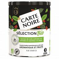 Carte Noire café moulu sélection bio 250g