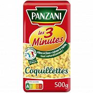 Panzani pâtes cuisson rapide coquillettes 500 g