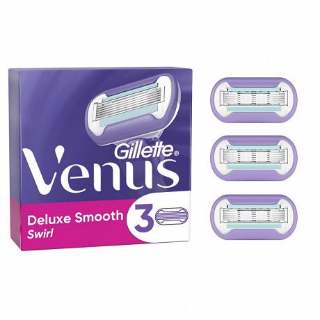 Venus Deluxe Smooth Swirl Lames de rasoir x3