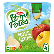 Pom'potes pomme nature 4x90g
