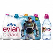 Evian bouchon sport colores 12x33 cl rpet