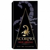 Scorpio noir absolu eau de toilette vaporisateur 75ml