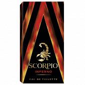 Scorpio iInferno eau de toilette vaporisateur 75ml