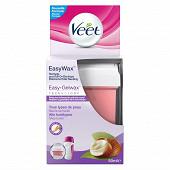 Veet roll on easy wax recharge bras & jambes 50ml