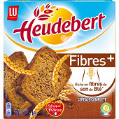 Lu heudebert biscotte fibre plus 280g