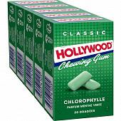 Hollywood chlorophylle 5 x 20 dragées 140g