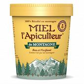 Miel l'apiculteur miel de montagne crèmeux pot 500g