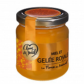 Lune de Miel miel et gelée royale pot verre 250 g