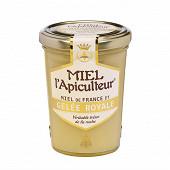Miel l'apiculteur miel de france et gelée royale pot verre 250 g