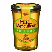 Miel L'apiculteur miel acacia de france liquide pot verre 500g