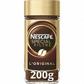 Nescafé Spécial Filtre - Café soluble riche et subtil - 200g