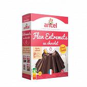 Ancel mon flan entremets chocolat format familial 5 doses 290g