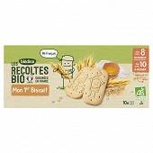 Bledina les récoltes bio mon 1er biscuit dès 8 ou 10 mois 150g