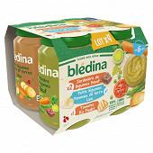 Bledina Pots x4 legumes boeuf colin riz poulet 6 a 36 mois 800g