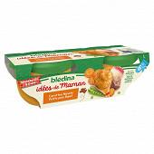 Blédina les idées de maman légumes du potager boeuf bol 2 x 200g dès 6 mois