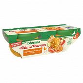 Blédina les idées de maman légumes provencale poulet 2x200g dès 8 mois