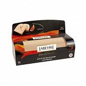 Labeyrie Bloc de foie gras de canard du sud-ouest avec morceaux dégustation + lyre 535g
