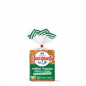 Jacquet sans sucres ajoutés 11 céréales & graines 550g