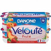 Danone velouté fruix panaché 16x125g