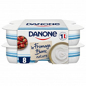 Danone fromage blanc nature 3.2%mg 8x100g
