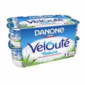 Danone yaourt brasse nature veloute 4.4 % MG 16 X 125 G