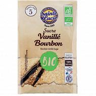 Sainte lucie sucre vanille bourbon bio 5 sachets 38g