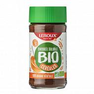 Leroux chicoree soluble cereales bio 100g