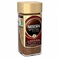 Nescafé Spécial Filtre - Café soluble riche et subtil - 100g