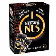 Nescafé Nes - Café soluble sans amertume - 25 sticks - 50g
