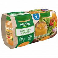 Bledina Pots Printaniere De Legumes 2X130G 6mois
