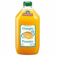 Andros jus d'oranges pressées sans pulpe1,5l