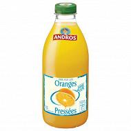 Andros pur jus oranges préssées sans pulpe 1l
