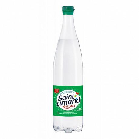 Saint-Amand eau minérale pétillante 1l