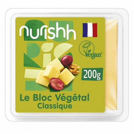 Nurishh classic bloc végétal - sans lactose - végan - 200g