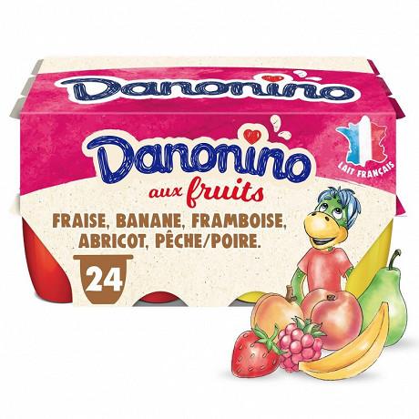 Danonino aux fruits panaché 24x50g