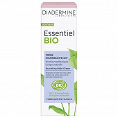 Diadermine essentiel bio crème hydratante nuit tube 50ml