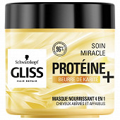 Gliss soin miracle nutrition karite 400ml