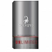 Scorpio unlimit eau de toilette 75ml