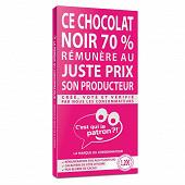 C'est qui le patron ?! chocolat noir dégustation 70% 90g