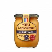 Miel l'apiculteur cremeux du gatinais pot en verre 375g