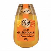 Lune de miel squeezer miel et gelée royale 450g