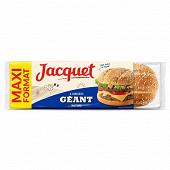 Jacquet 6 hamburger géant nature 495g