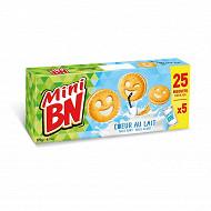 Mini BN coeur de lait 5 pochons 175g
