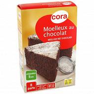 Cora préparation moelleux chocolat 435g