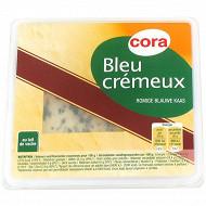 Cora bleu crémeux au lait pasteurisé 34% MG 125 g