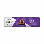 Galler baton noir biscuit 65g